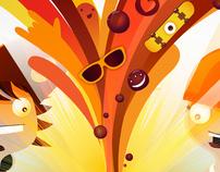 Storyboard & Postproducción comercial Cocoa Raff