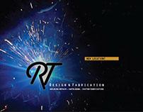 RT Design and Fabrication Branding