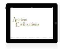 ANCIENT CIVILIZATIONS | IPAD APP CONCEPT
