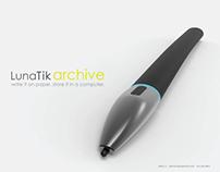 LunaTik Archive . Wear it. Write it. Store it.