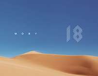 Moby '18' CD cover