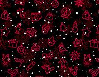 Christmas leprosorium pattern