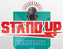 STAND UP UNIVERSITY LOGO