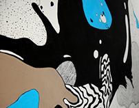 Taczaka 20 Cafe - Mural