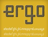 Ergo | Typeface Prototype