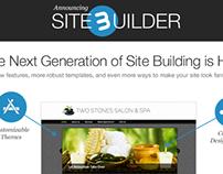 Webs SiteBuilder 3 Release