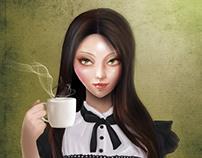 AMELIA (Cameo Portrait)