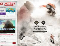 BURTON SNOWBOARDS: 2010 Season Site