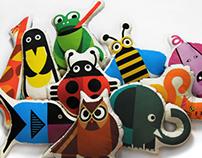 Bibu Animals Cushions Collection