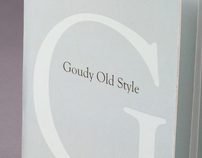 Goudy Old Style Type Spec Book