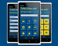 TeleListas.net Windows Phone App