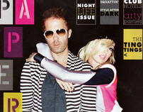 The Ting Tings - Paper Magazine Nightlife Issue