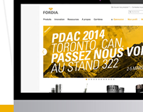 FORDIA   Web design