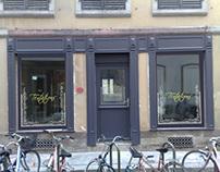 "Retail shop design ""Tentations"" - Classical Ice Shop"