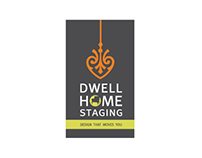 Dwell Home Staging Identity Design