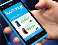Submarino app for windows phone