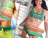 Fitness & Gym: Trifold Flyer