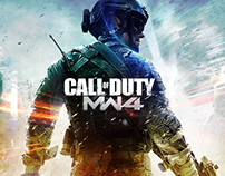 call of duty mw 4 poster
