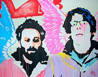 Live Paintings - The Black Keys Tour