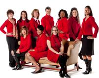 SCANA Red Dress Ads