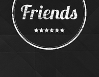"Logo for the network of hostels ""friends"""