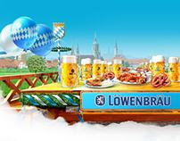 Lowenbrau promo site
