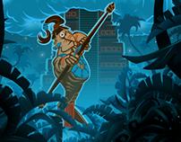 Maya - Mobile game concept art