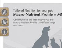 Optimum Pet Website 2008