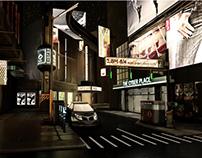 Starlit Street