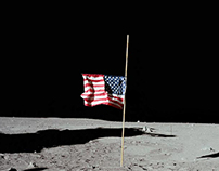 Neil Armstrong Tribute Poster