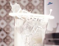 Leche con fe - (Milk with faith)