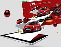 Za1 – Audi A1 Microsite for Europcar