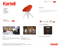 Kartell Flagship Store Monza Web Site