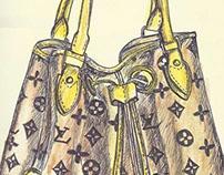 LV Handbags July-Aug 2012 Drawings