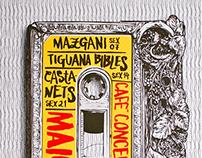 Silk Screened Poster Series   Café Concerto