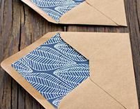 Patterned Envelope Liner