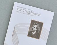 The Grieg Journal, Volume 1