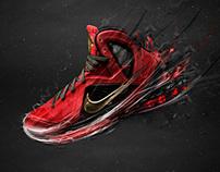 Nike LeBron 9 Advertising
