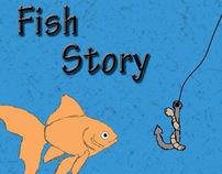 """Children Book - """"Fish Story"""""""