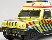 SIRE Armored Ambulance - Complete CG