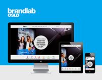 Brandlab Oslo Website