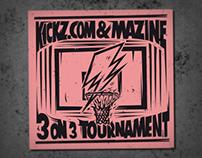 Mazine X Kickz.com 3 on 3 Tournament