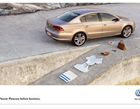 Campaign: VW Passat for DDB