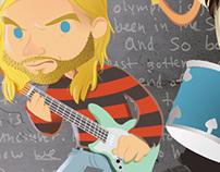 Nirvana Illustration (poster)