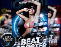 Beat Booster Flyer Template