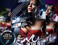 Sexy In The Beat Flyer Template