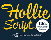 Hollie Script - Awarded by TDC 2015