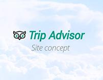 Trip Advisor site concept