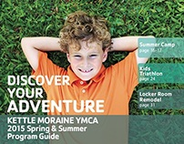 Kettle Moraine YMCA Spring & Summer Program Guides 2015
