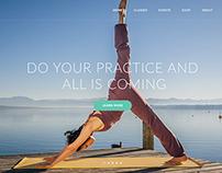 Asana - Sport and Yoga Template